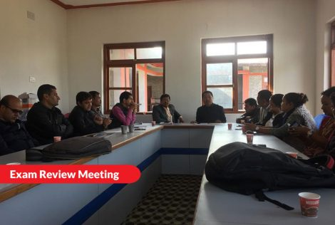 Exam Review Meeting